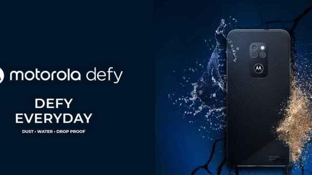 Nuevo Motorola Defy: un móvil ultraresistente
