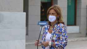 Pilar Alía en rueda de prensa