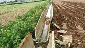 Asaja denuncia el abandono de las infraestructuras de regadío y la escasa inversión de la CHT en las mismas