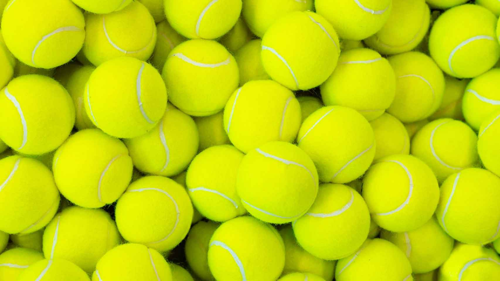 En Cataluña se consumen tres millones de pelotas de tenis y pádel al año. Esto se traduce en 200 toneladas de residuo.