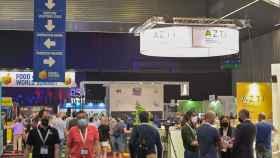 Uno de los pasillos de Food 4 Future, la cita del sector 'foodtech' que se ha celebrado esta semana en Bilbao.