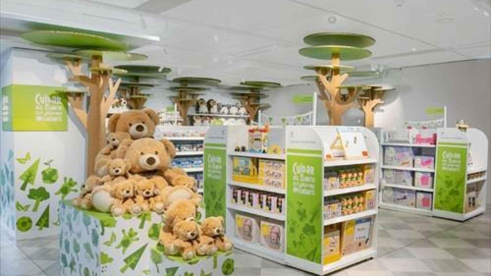 El Corte Inglés crea las tiendas de juguetes para cuidar el planeta en más de 70 centros en España
