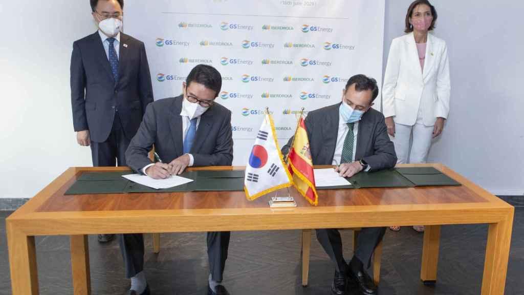 Iberdrola se alía con  la coreana GS Energy para desarrollar renovables en Asia-Pacífico