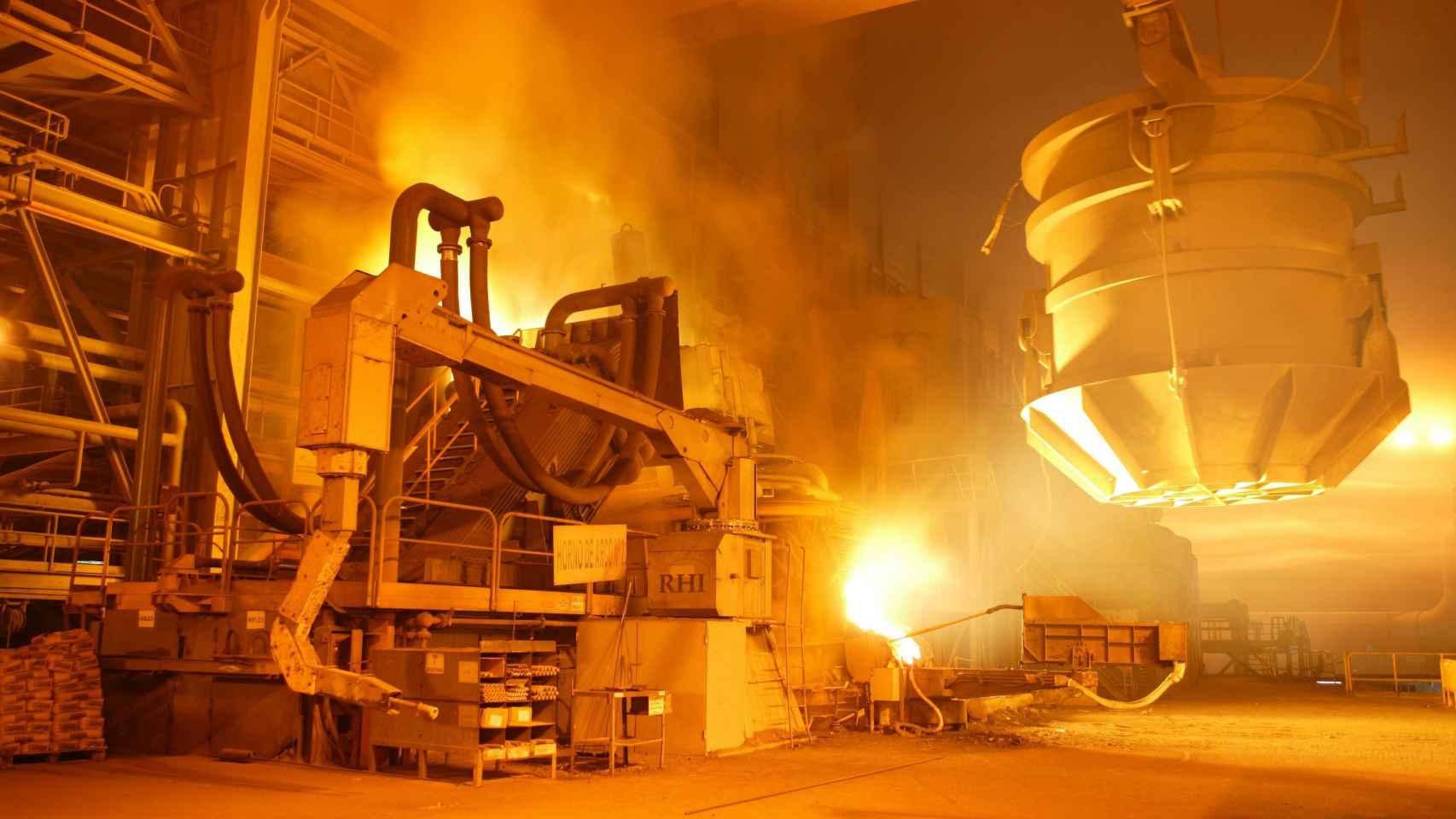 La siderúrgica española Unesid pide un precio de la energía estable y predecible