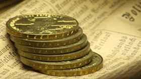 Monedas históricas en una imagen de archivo.
