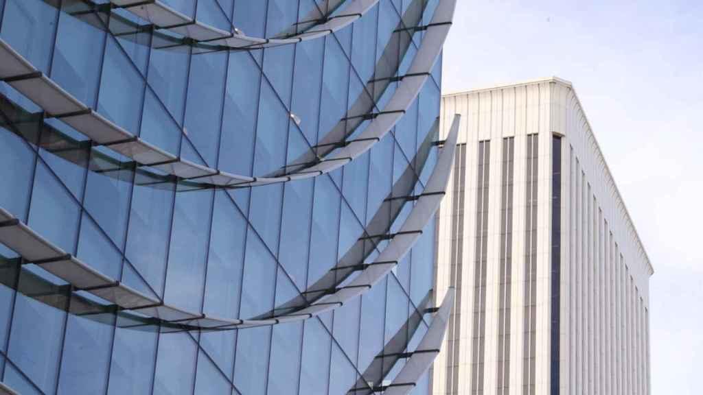 Edificio WeWork, donde se encuentran las instalaciones de Organon en España.