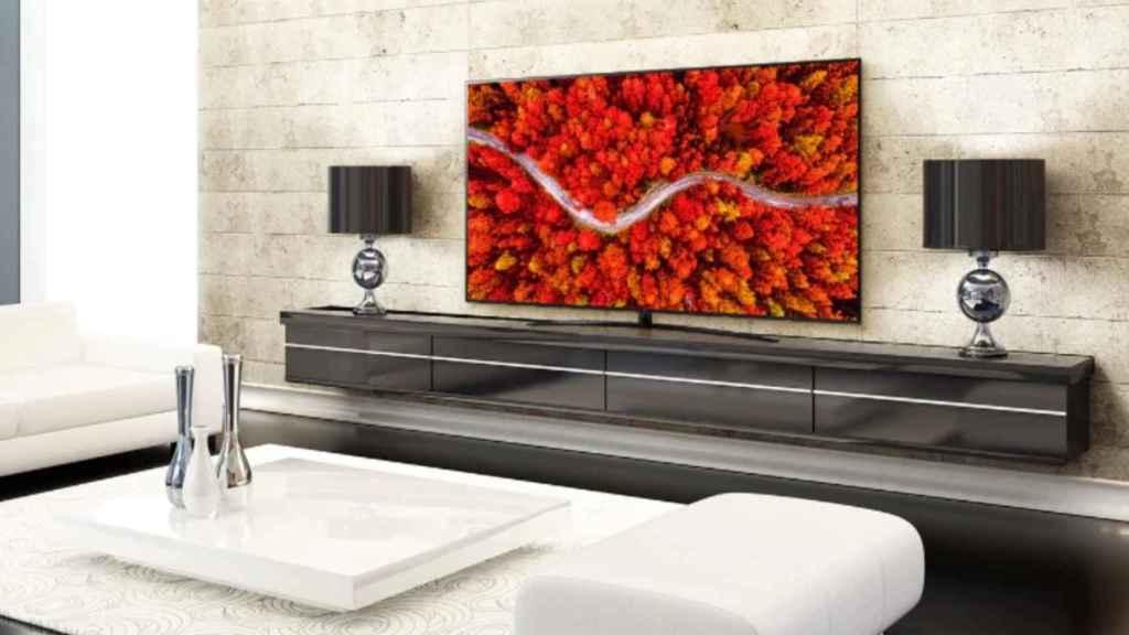 Se puede conseguir un televisor LG por menos de 330 euros.