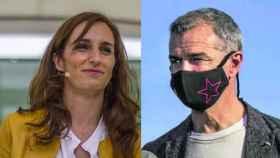Mónica García y Toni Cantó en un fotomontaje.