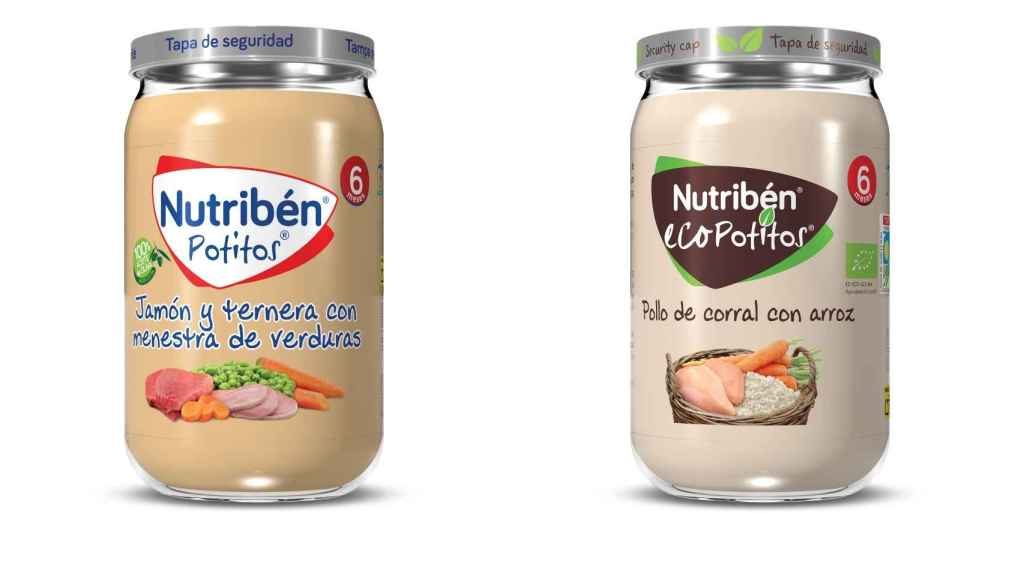 Nuevos potitos Nutribén