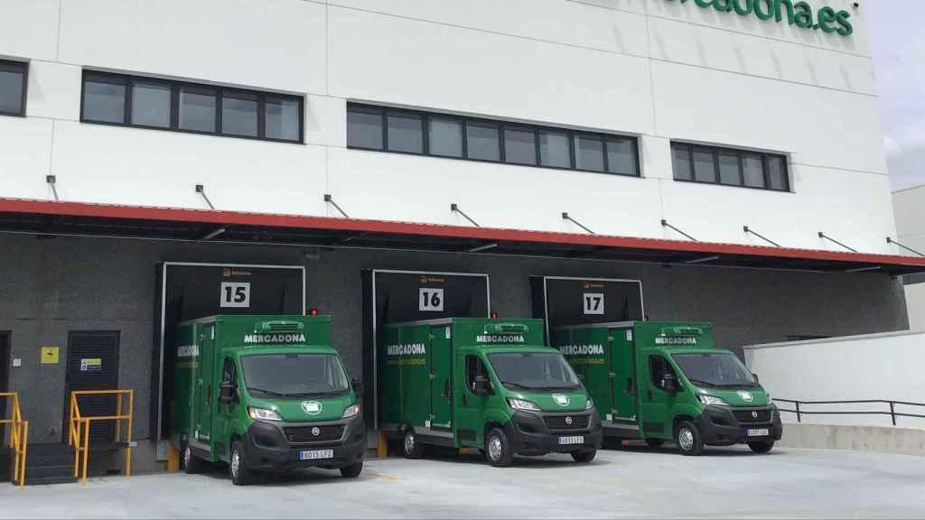Almacén logístico de Mercadona en Getafe.