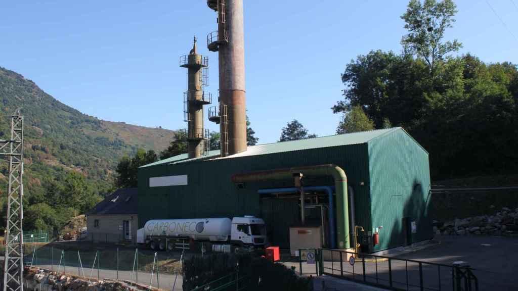 La planta de Carboneco.
