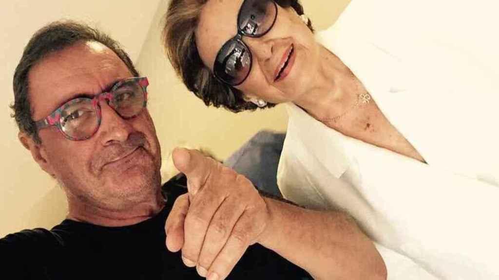 Carlos Herrera y Blanca Crusset en las redes sociales del periodista.