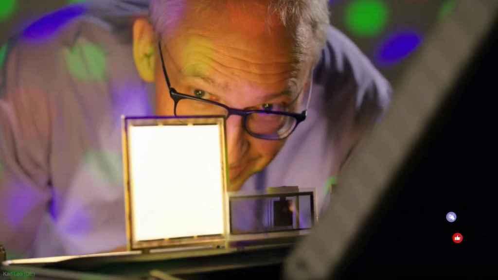 El físico alemán Karl Leo