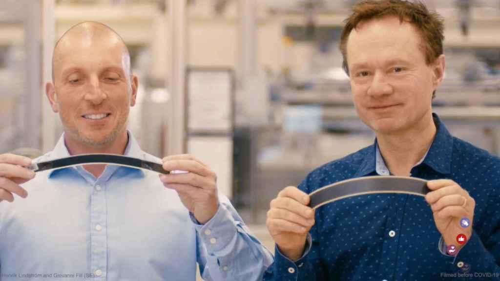 Henrik Lindström y Giovanni Fili
