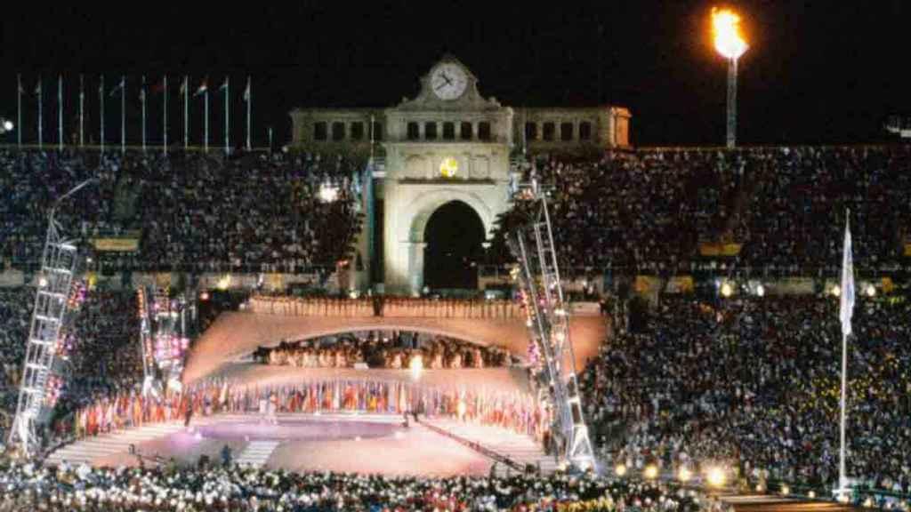 Ceremonia inaugural de Barcelona 92.