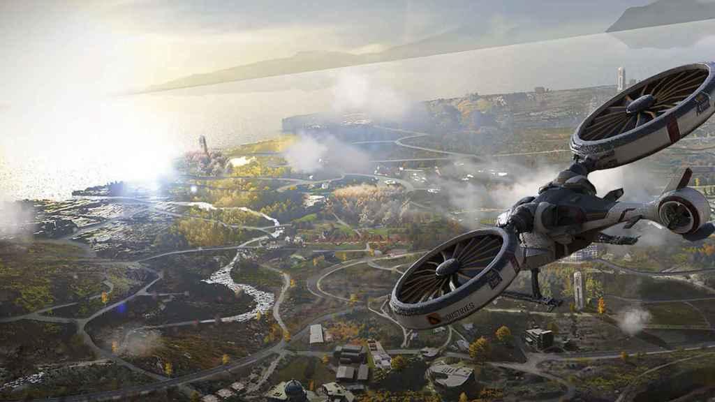 Drones en PUBG: New State