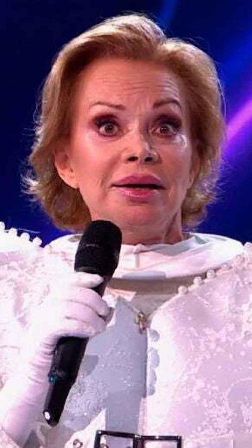 La cantante tras ser descubierta en Antena 3.
