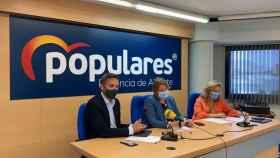 Reunión de los diputados del PP de Alicante.