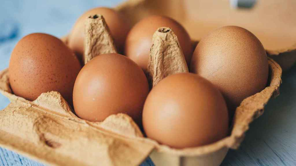 El precio medio de los huevos en 2020 se situó en torno a los 2,35 euros el kilo.