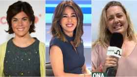 Samanta Villar, Ana Terradillos y Mayka Navarro en montaje de BLUPER.