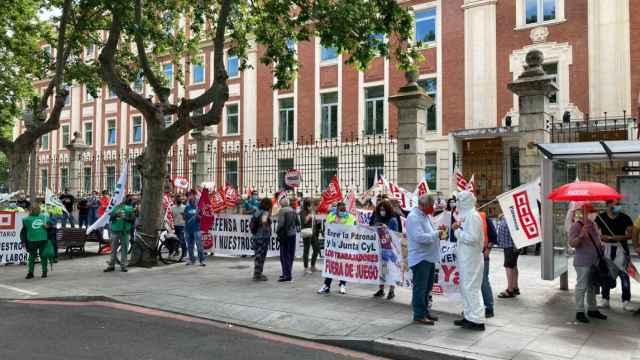 Valladolid concentracion ambulancia sanidad 1 (3)