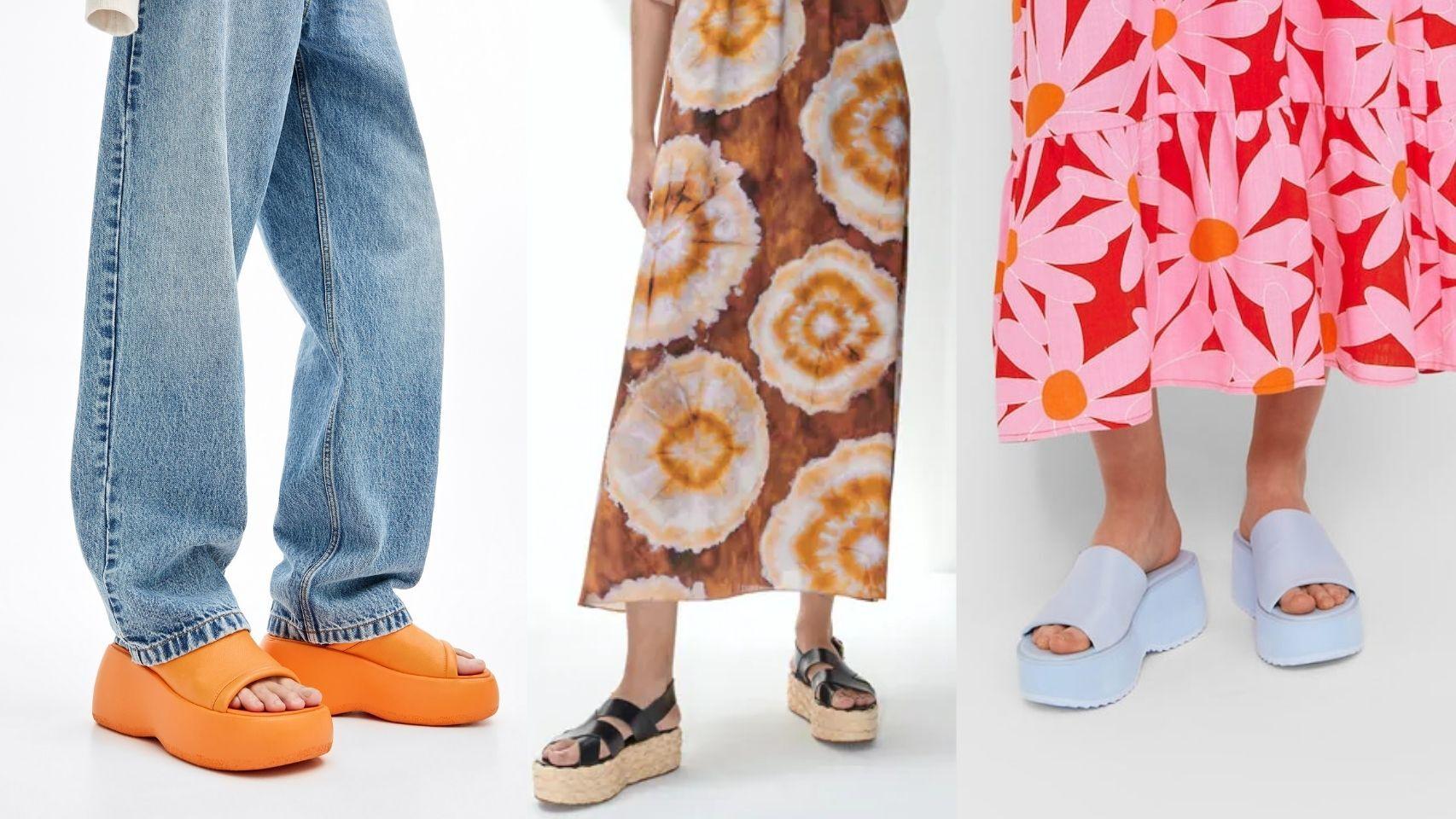'Flatforms', el zapato plano con plataforma más versátil de la temporada.