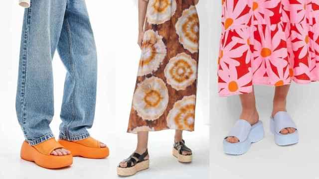 'Flatforms', el zapato plano con plataforma más versátil de la temporada