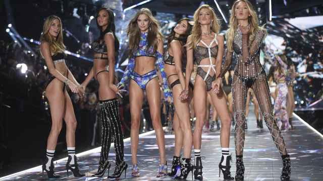 Uno de los últimos desfiles de Victoria's Secret.
