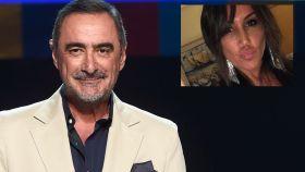 Carlos Herrera en montaje de JALEOS junto a su pareja, la periodista Pepa Gea.