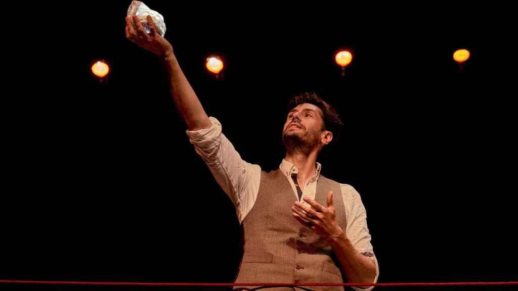 Juan Diego Botto en 'Una noche sin luna'.
