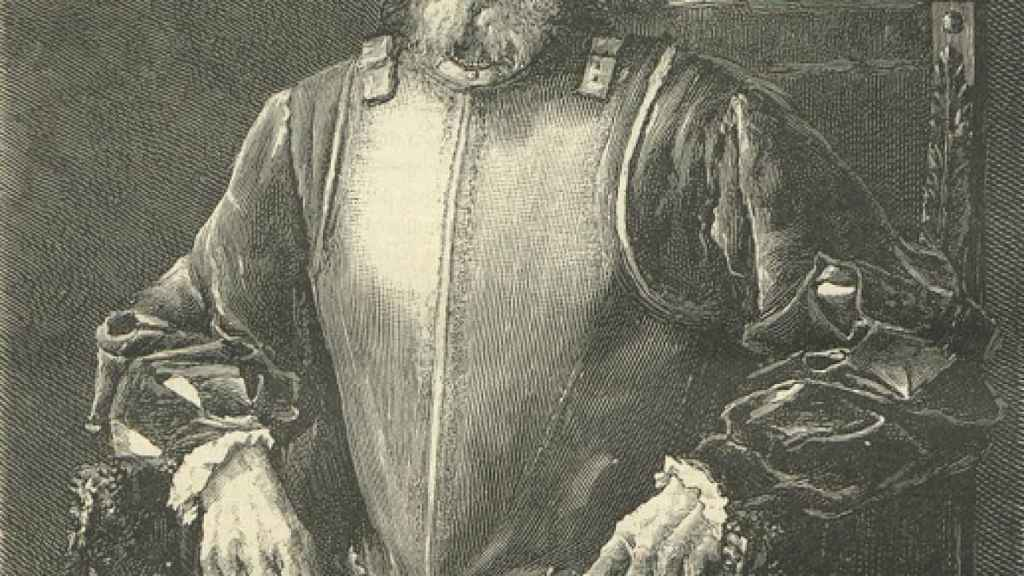 Miguel López de Legazpi en la revista La Hormiga de Oro.