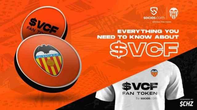 El Valencia anuncia su criptomoneda