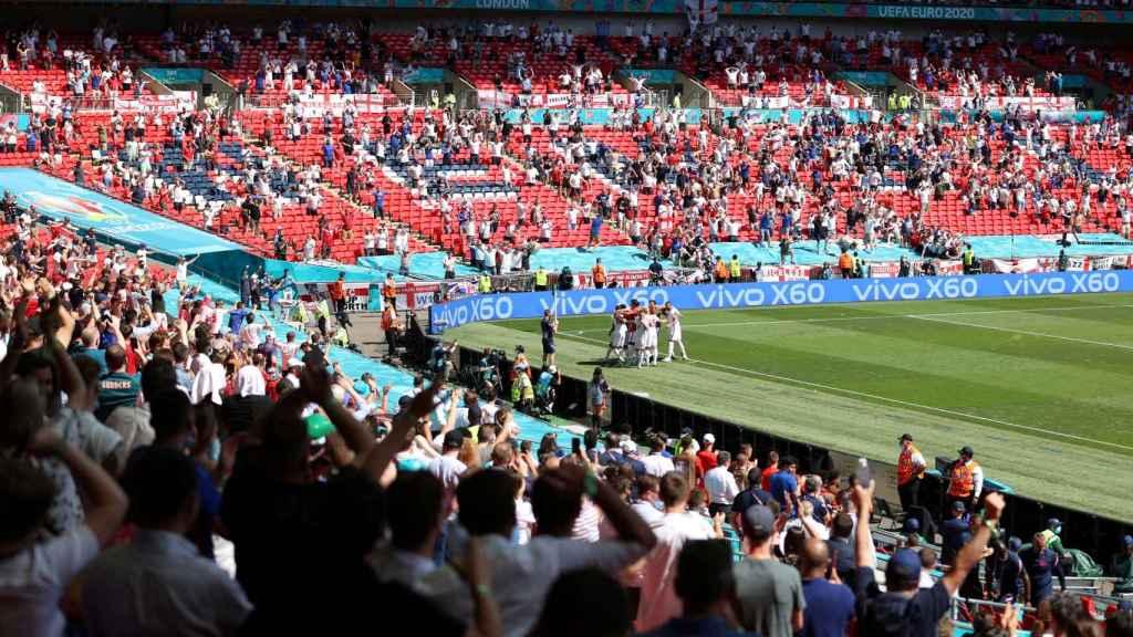 Wembley en la Eurocopa 2020