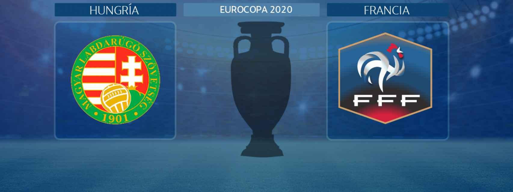 Hungría - Francia, partido de la Eurocopa 2020