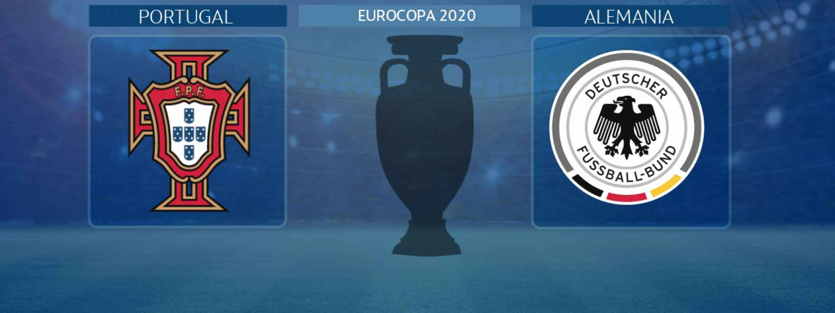 Portugal - Alemania, partido de la Eurocopa 2020