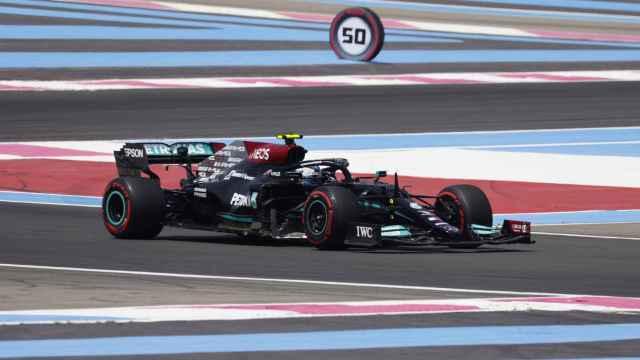 Valtteri Bottas en el Gran Premio de Francia