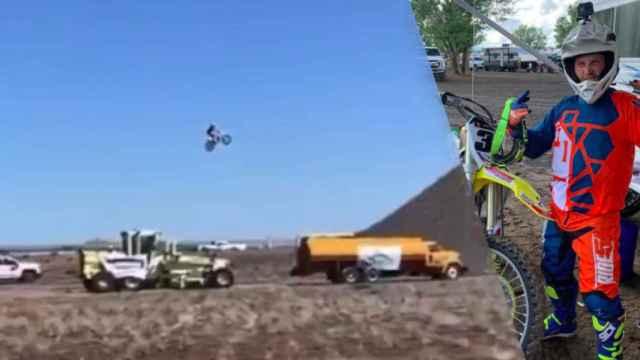 Alex Harvill, piloto de motos fallecido en un accidente de salto