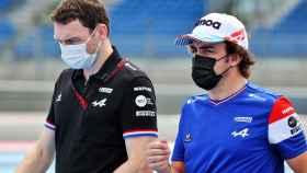Fernando Alonso analizado el circuito Paul Ricard