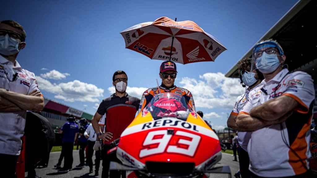 Marc Márquez, en MotoGP