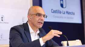 Juan Camacho, director general de Salud Pública de Castilla-La Mancha. Foto: Óscar Huertas