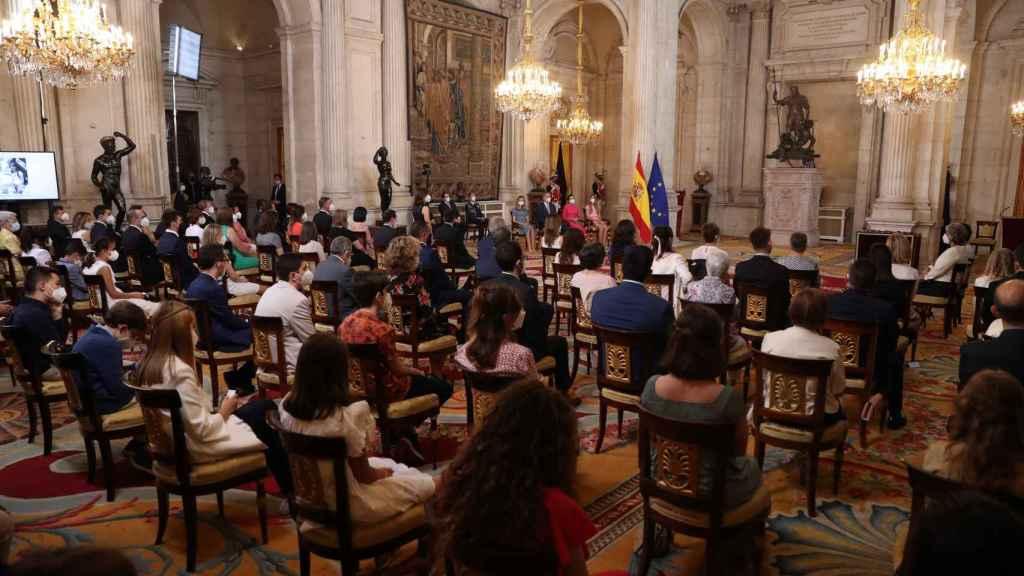 Acto de imposición de condecoraciones de la Orden del Mérito Civil.