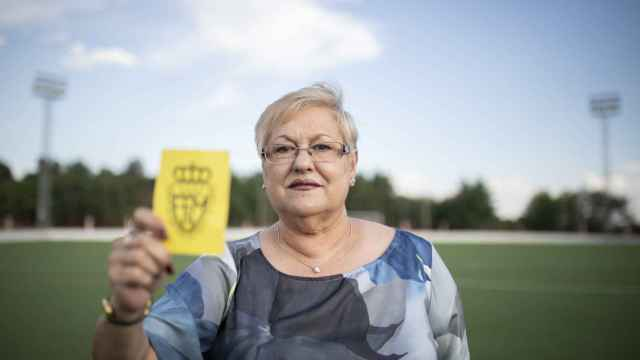 Rosa Bonet, primera árbitro de España