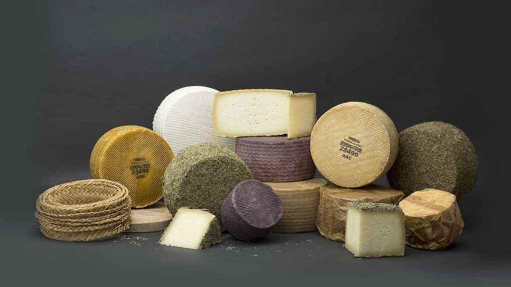 Variedad de quesos Villarejo