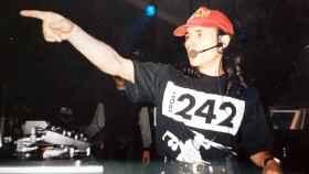 Chimo Bayo pinchando en una discoteca valenciana