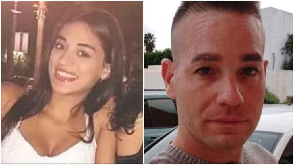 Wafaa (izquierda) y su presunto asesino, David 'el Tuvi'