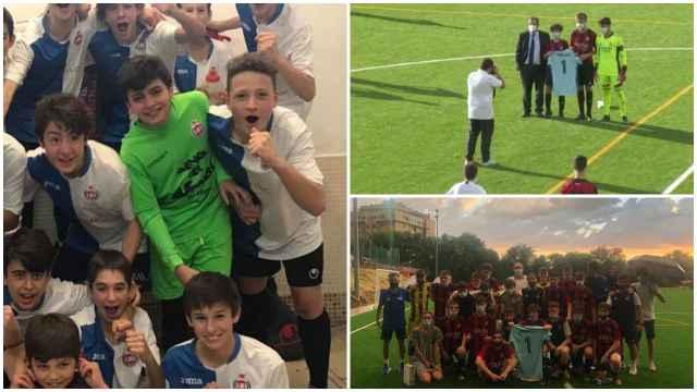 Homenaje del UD Adarve y el Real Madrid a Gonzalo