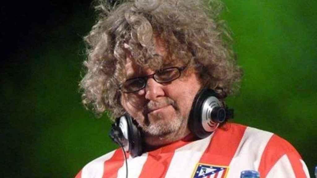 Julio DJ Rojiblanco Ruíz, le gusta hasta a los merengues.