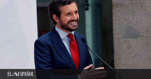 """Casado acusa a quienes apoyan los indultos desde la sociedad civil de ser """"cómplices"""" de Sánchez"""