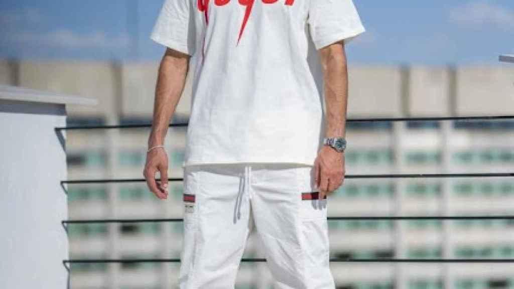Benzema, vestido de Gucci