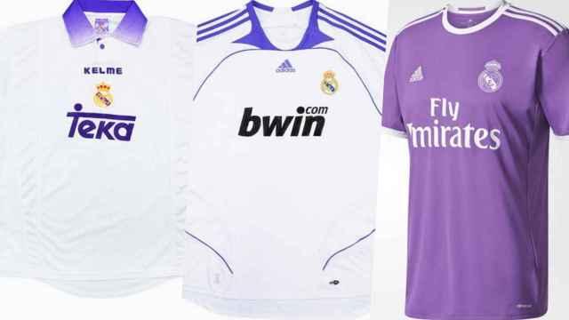 Las camisetas púrpuras del Real Madrid